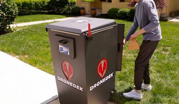 Drone delivery smart mailbox to be demonstrated