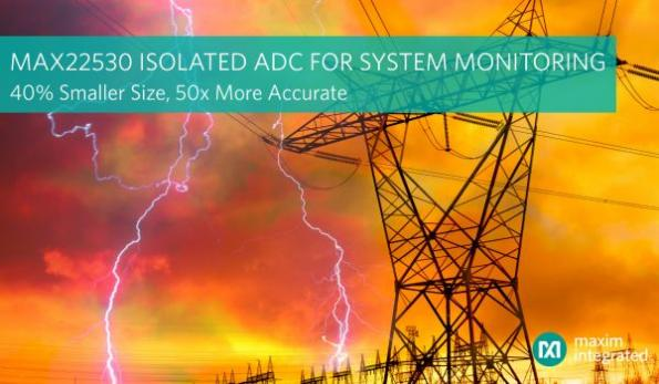 Isolated system monitoring IC replaces five components