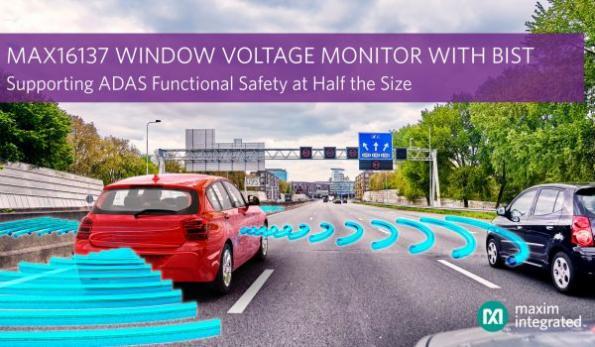 Automotive window voltage monitor features BIST