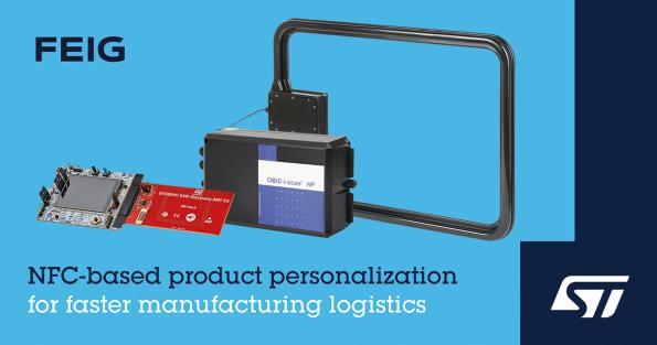 NFC product personalization for fast, cost-efficient logistics