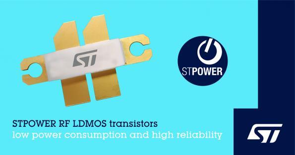 RF LDMOS power transistors drive efficiency
