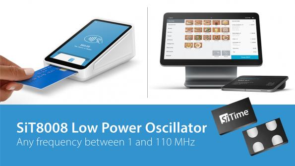 SiTime MEMS oscillators in Square POS products