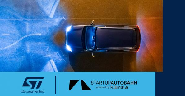STMicroelectronics joins Startup Autobahn as anchor partner