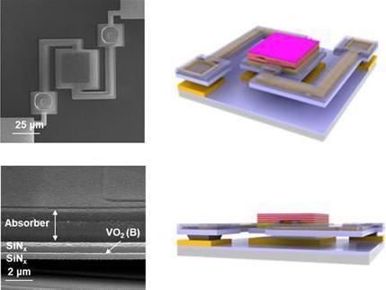Sensor to check body temperature with smartphone camera