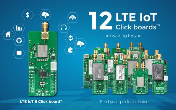 Development board delivers LTE-M and NB-IoT connectivity