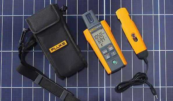 Solar irradiance meter eases testing of photovoltaic systems