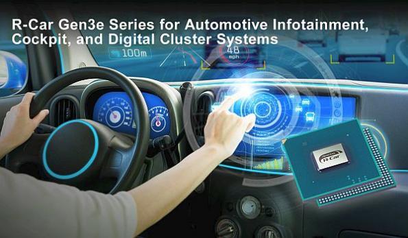 Automotive SoCs for infotainment, cockpit, and digital clusters