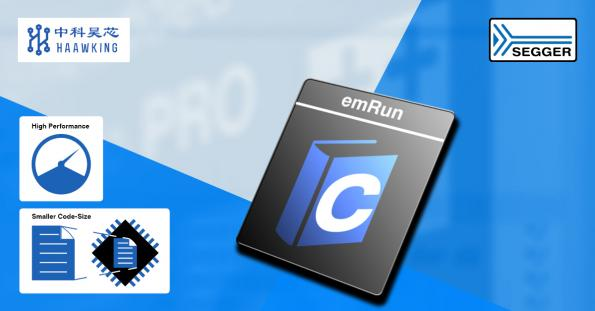 Haawking licenses emRun for RISC-V from Segger