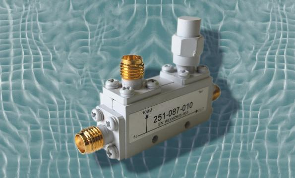 50-W directional coupler covers 12.4 to 18 GHz