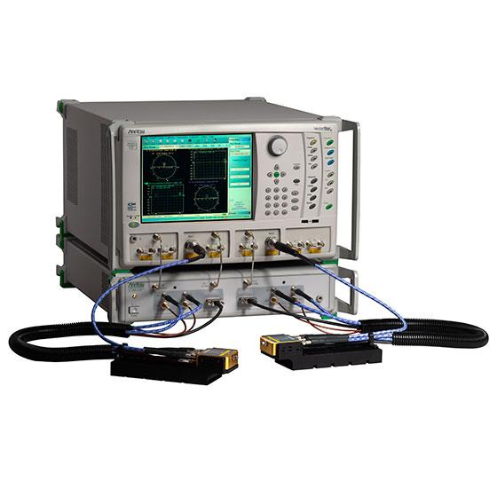 Broadband VNA with single-sweep coverage up to 125 GHz