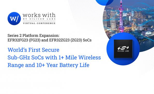 First secure sub-GHz SoCs with over a mile range