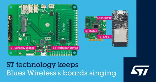 ST and Blues Wireless accelerate embedded cellular IoT