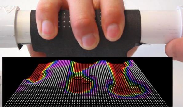 Smart fabric sensor for next-gen human interaction