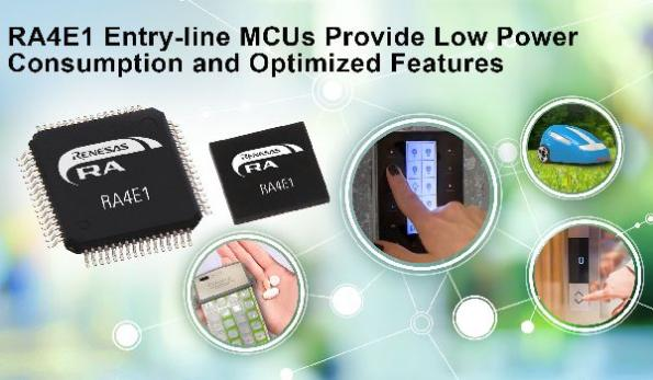 Entry-line MCUs offer 100-MHz performance, low power consumption