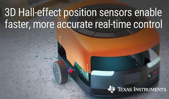 3D Hall-effect position sensor enables faster real-time control