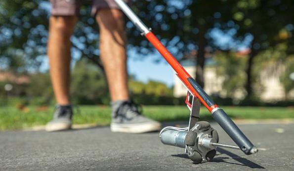 DIY smart cane is self-navigating