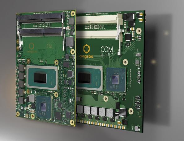 Computer-on-Modules target IoT gateway, AI edge computing