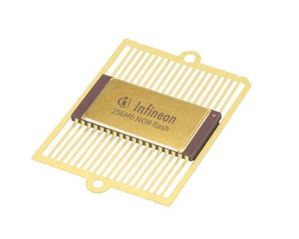 Radiation tolerant serial NOR Flash memory for space-grade FPGAs