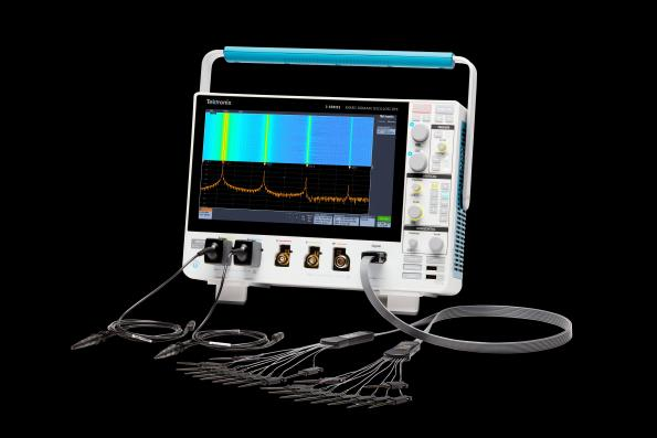 Tektronix mid-range large screen scopes have a bandwidth up to 1.5GHz.