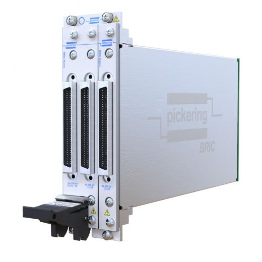 High density switching modules from Pickering Interface enable a complete functional ATE in a 3U PXI chassis