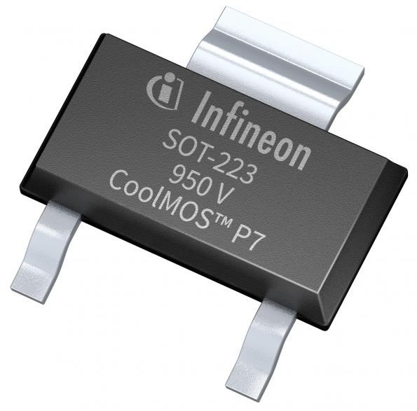 950V superjunction MOSFET for PFC and flyback topologies