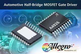 Half-bridge MOSFET driver ICs for high power automotive