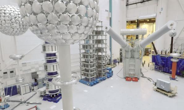 ABB certifies first 1100kV DC transformer