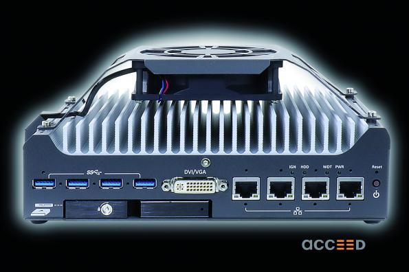 Acceed's new fanless embedded PC Nuvo-7531 has a highly compact form factor and provides a wide range of standard equipment.