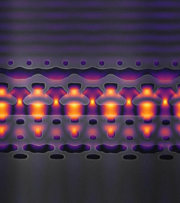 Accélérateur de particules 1MeV sur une puce Si