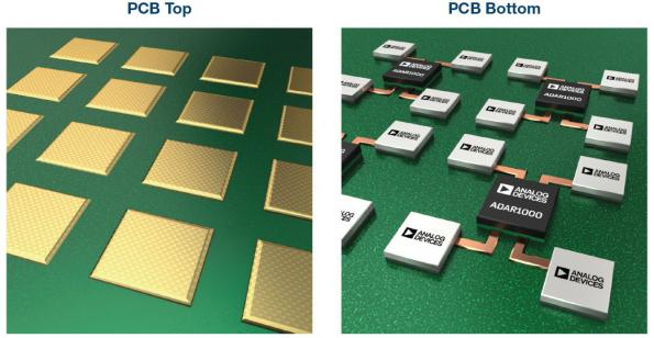 Phased array beamforming ICs simplify antenna design