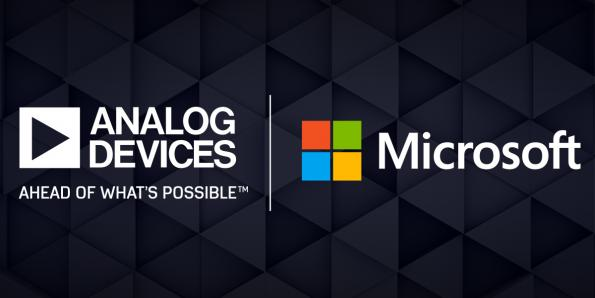 Analog Devices and Microsoft will work together to get the best performance from Microsoft's 3D time-of-flight (ToF) sensor technology and expand its use to new areas.