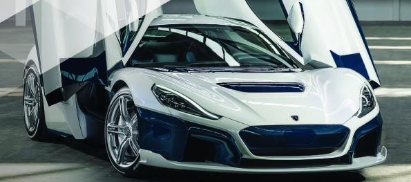 The 1914hp Rimac C_Two is a fully electric hypercar capable of speeds of up to 258 miles per hour