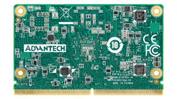 Advantech has introduced the ROM-5720, a SMARC 2.0 module centred on NXP's ARM Cortex-A53 i.MX8M processor.