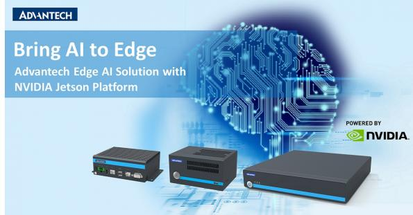 Advantech has launched a full AI product line that has been based on NVIDIA technology. The new range takes AI from the edge to the cloud.