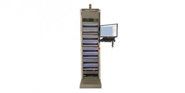 Test system adapted for advanced PCIe Gen 4 Solid-State Drives