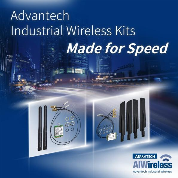 Advantech has launched two wireless solutions that have been designed to improve connectivity in a diverse range of applications.