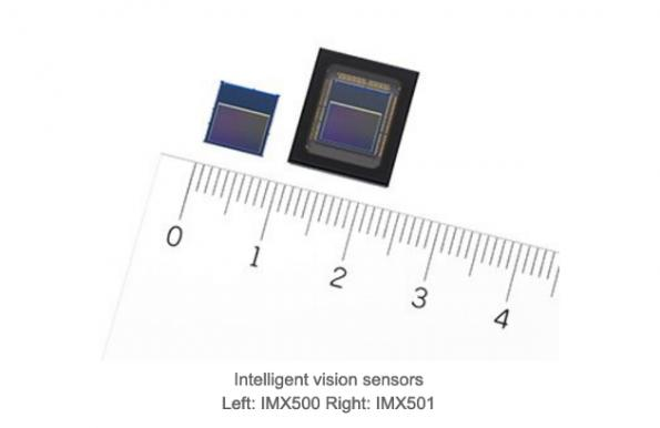 Sony adds AI processor to image sensors