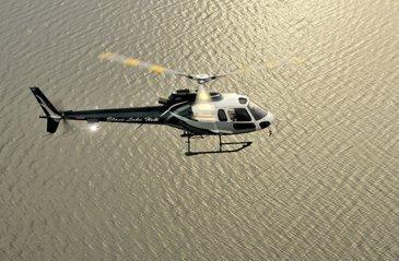 Test en vol d'un pilote automatique 4 axes d'hélicoptère