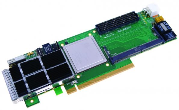 Aldec has introduced an FPGA accelerator board that targets high-performance computing (HPC) and high-frequency trading (HFT) applications, as well as FPGA prototyping.