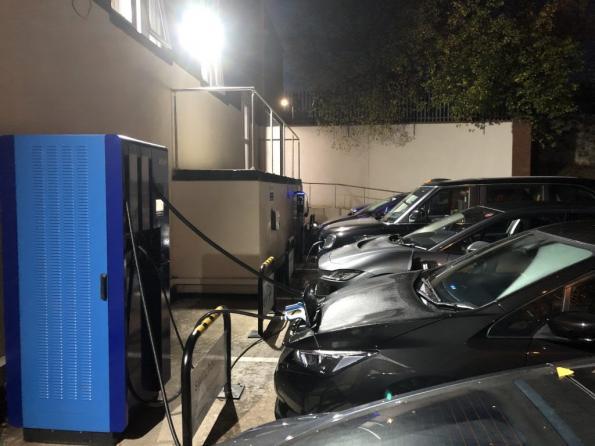 UK installs first 120kW EV charger