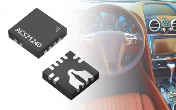 Current sensor IC suits EV chargers, industrial IoT