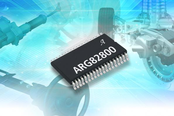 Automotive power management chip integrates four high side gate drivers