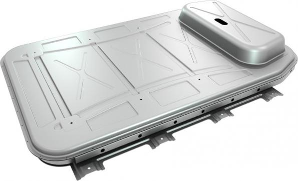 First sheet aluminium battery enclosure for electric vehicles