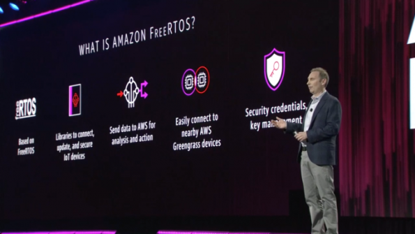 Amazon's operating system for the IoT driven by European technology
