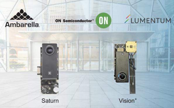 Ambarella, Lumentum, On Semi form biometric partnership