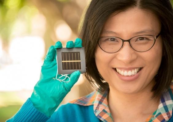 Large area perovskite solar cell efficiency hits 12%