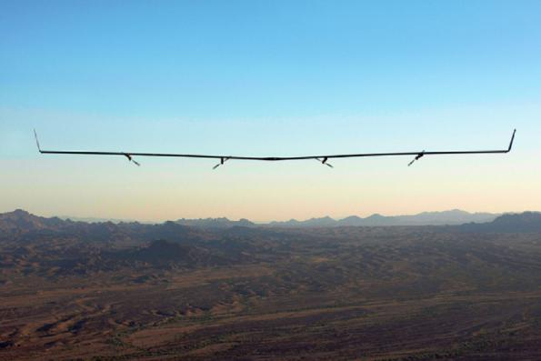 Aerial basestation project crashes to the ground