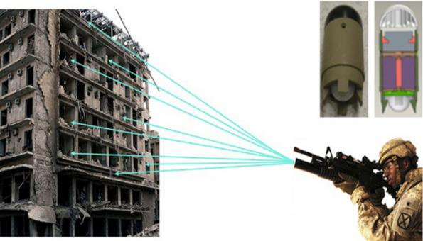 US army fires sensor bullets, MEMS missiles