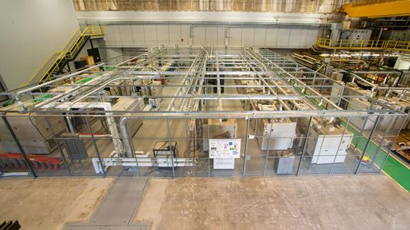 A battery test facility for evaluation of performance and lifetime at Argonne National Laboratory.
