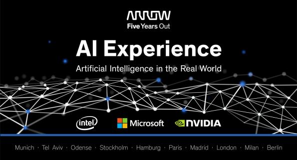 Arrow Electronics will host a series of events to show the usage of AI in today's applications and how to integrate AI into designs.